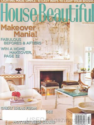 House Beautiful Magazine - October 2004