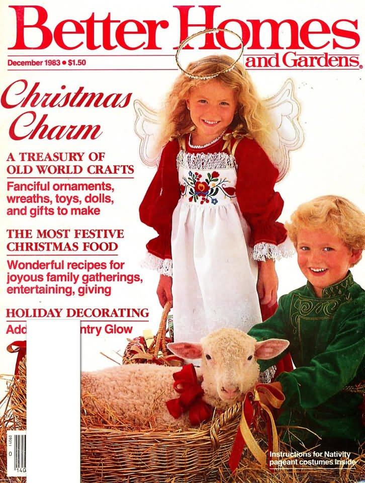 Better Homes & Gardens Magazine - December 1983