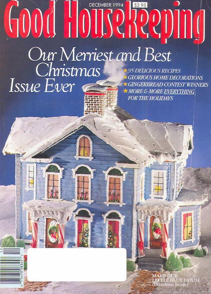 Good Housekeeping Magazine - December 1994 - Christmas Issue