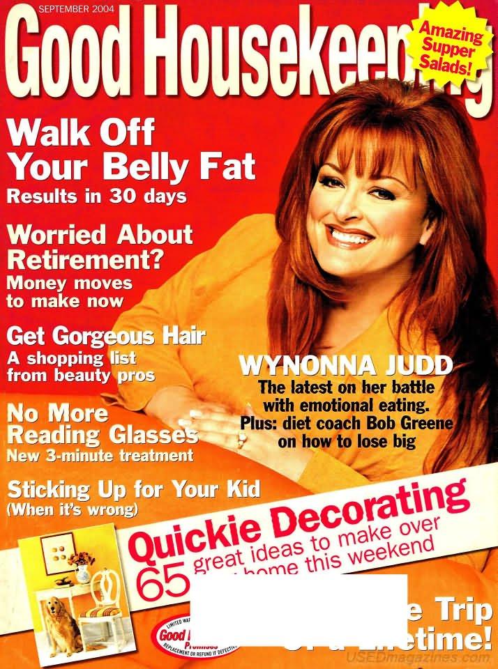 Good Housekeeping Magazine - September 2004 - Wynona Judd