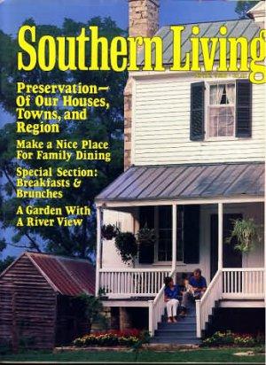 Southern Living Magazine - April 1986