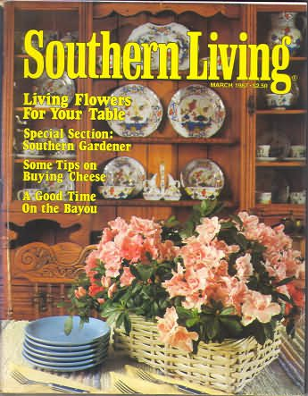 Southern Living Magazine - March 1987