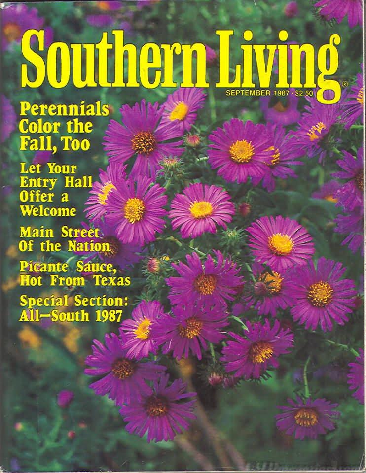 Southern Living Magazine - September 1987