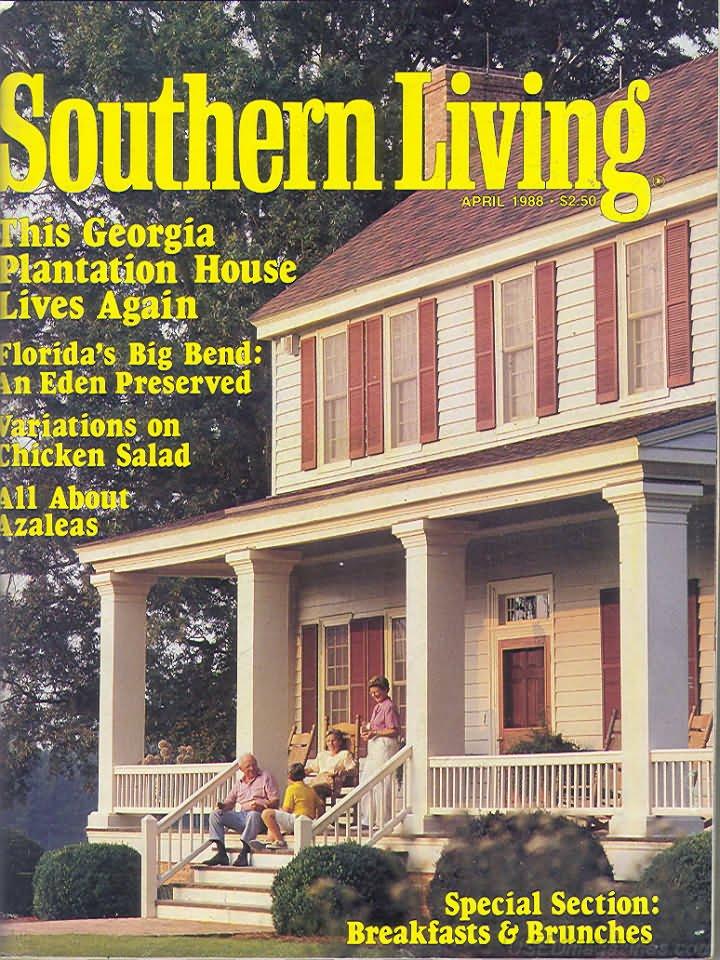 Southern Living Magazine - April 1988