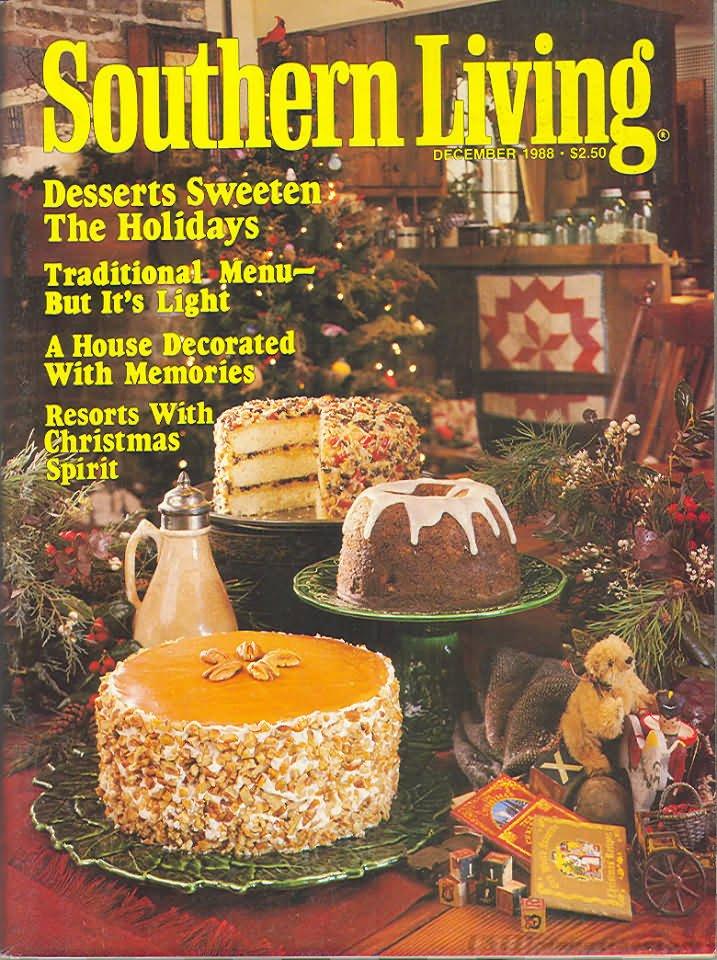 Southern Living Magazine - December 1988