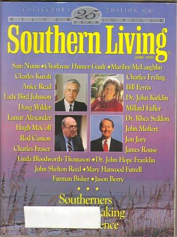 Southern Living Magazine - June 1990