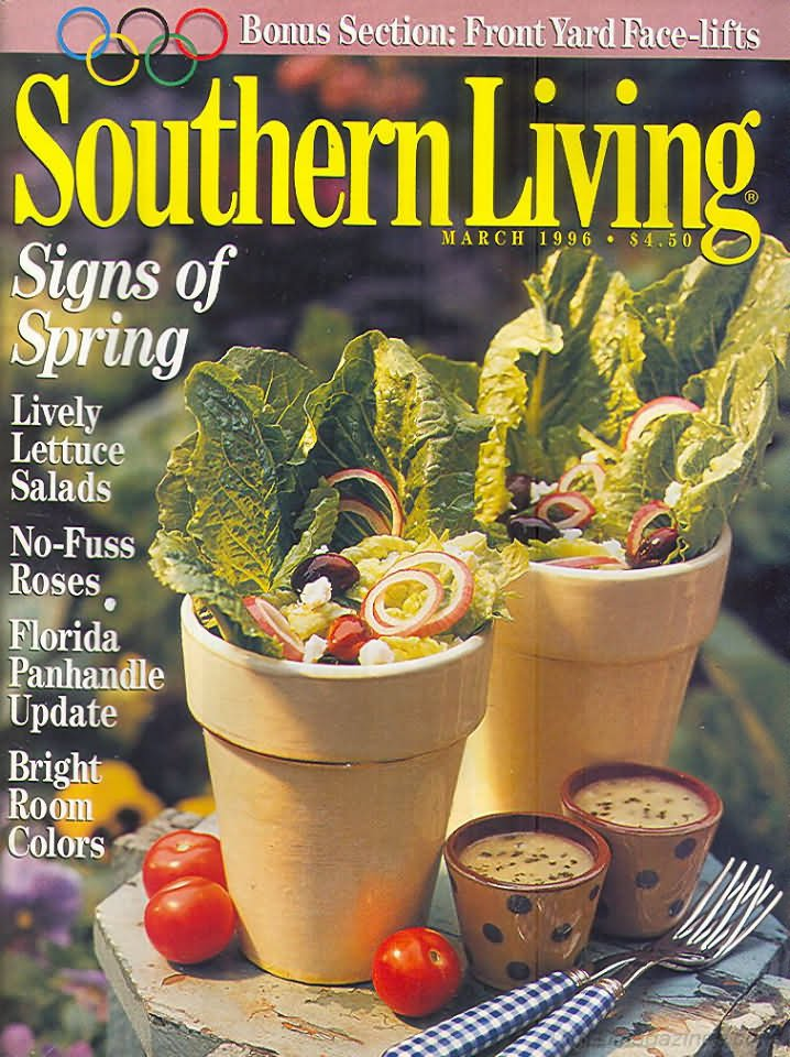 Southern Living Magazine - March 1996