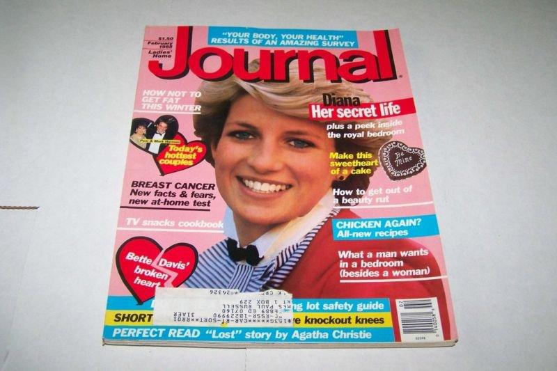 Ladies Home Journal Magazine - February 1988 - Princess Diana