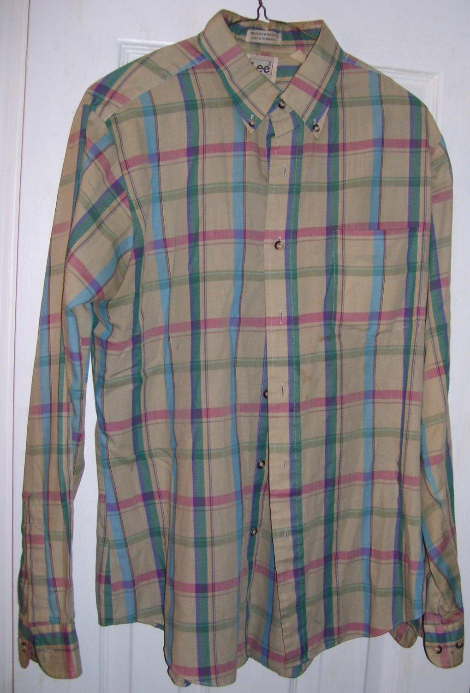 Vintage Men's Lee Shirt, Size: Large ( L )