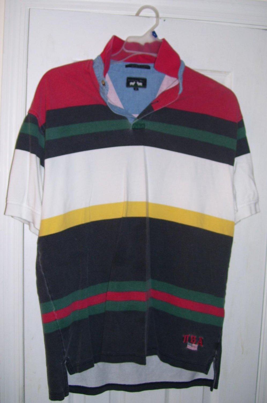 Men's Woods & Gray Polo Shirt, Size: Medium ( M )