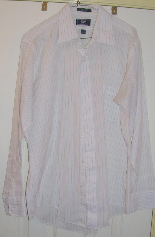 Vintage Men's Arrow Kent Striped Shirt, Size: 16