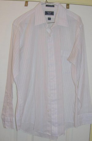 Vintage Men's Arrow Kent Striped Shirt, Size: 16
