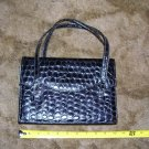 Vintage Black Animal Skin Handbag