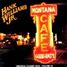 Cassette Tape: Hank Williams Jr. - Montana Cafe