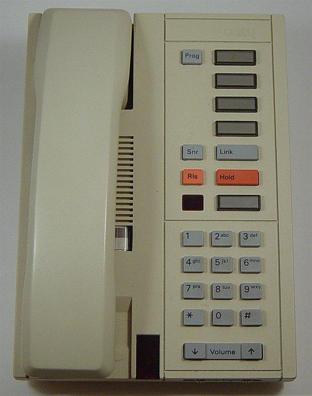 Nortel Unity III Analog Office Telephone (Ash)