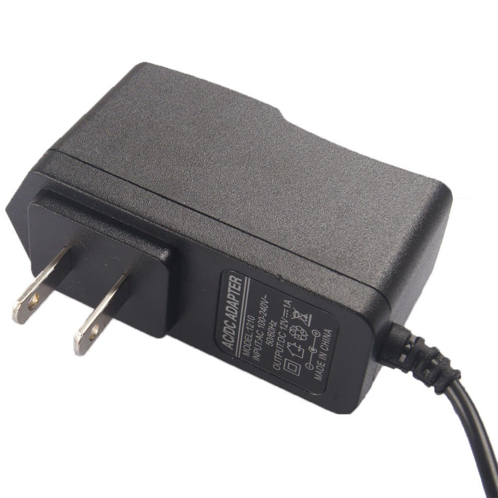 AC 100-240V to DC 12V 1A 5.5 x 2.1MM Wall Charger Power Supply Adapter US Plug