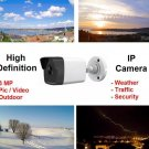 Outdoor High Definition HD 3MP IP Camera ; Security, Weather, Traffic Cam ; Video & Image