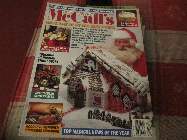 McCalls Magazine - December 1989 - Christmas Issue