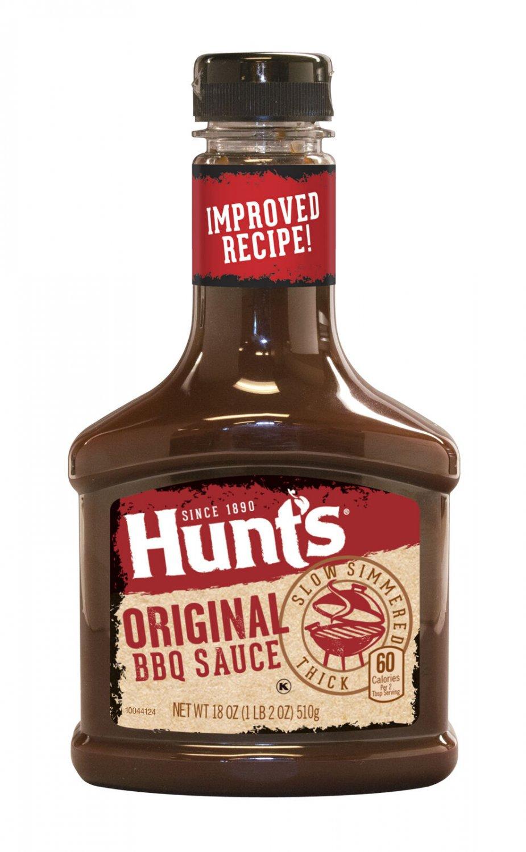Hunts Original BBQ Sauce (4 Bottles)