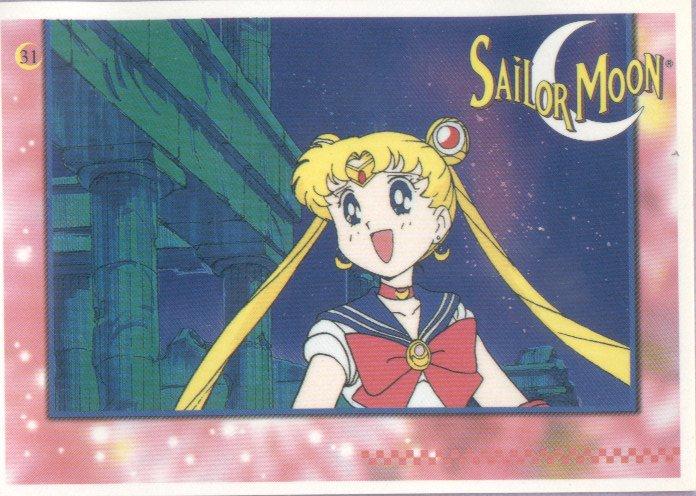Sailor Moon Artbox/Second Series Sticker #31 - Sailor Moon