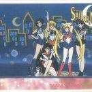 Sailor Moon Artbox/Second Series Sticker #33 - The Sailor Scouts