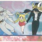 Sailor Moon Artbox/Second Series Sticker #38 - Moonlight Knight, Serena, and Tuxedo Mask