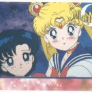Sailor Moon Artbox/Second Series Sticker #45 - Sailor Moon and Ami