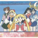 Sailor Moon Artbox/Second Series Sticker #65 - The Sailor Scouts