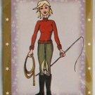 Bella Sara Series Two Card #93 Riding Lesson