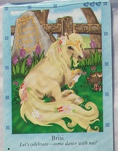 Bella Sara Northern Lights Card #2 Brisi