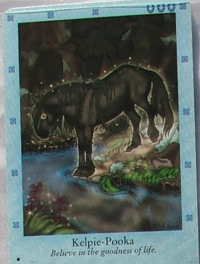 Bella Sara Northern Lights Card #11 Kelpie-Pooka