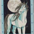 Bella Sara Northern Lights Card #14 Moonlight