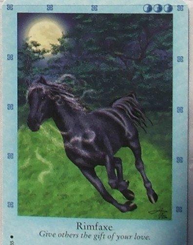 Bella Sara Northern Lights Card #18 Rimfaxe