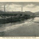 West Virginia Pulp and Paper Company, Covington VA Postcard