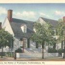 Home of Mary Ball Washington in Fredericksburg, Virginia Vintage Postcard