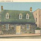 Edgar Allan Poe Shrine in Richmond, Virginia Vintage Postcard
