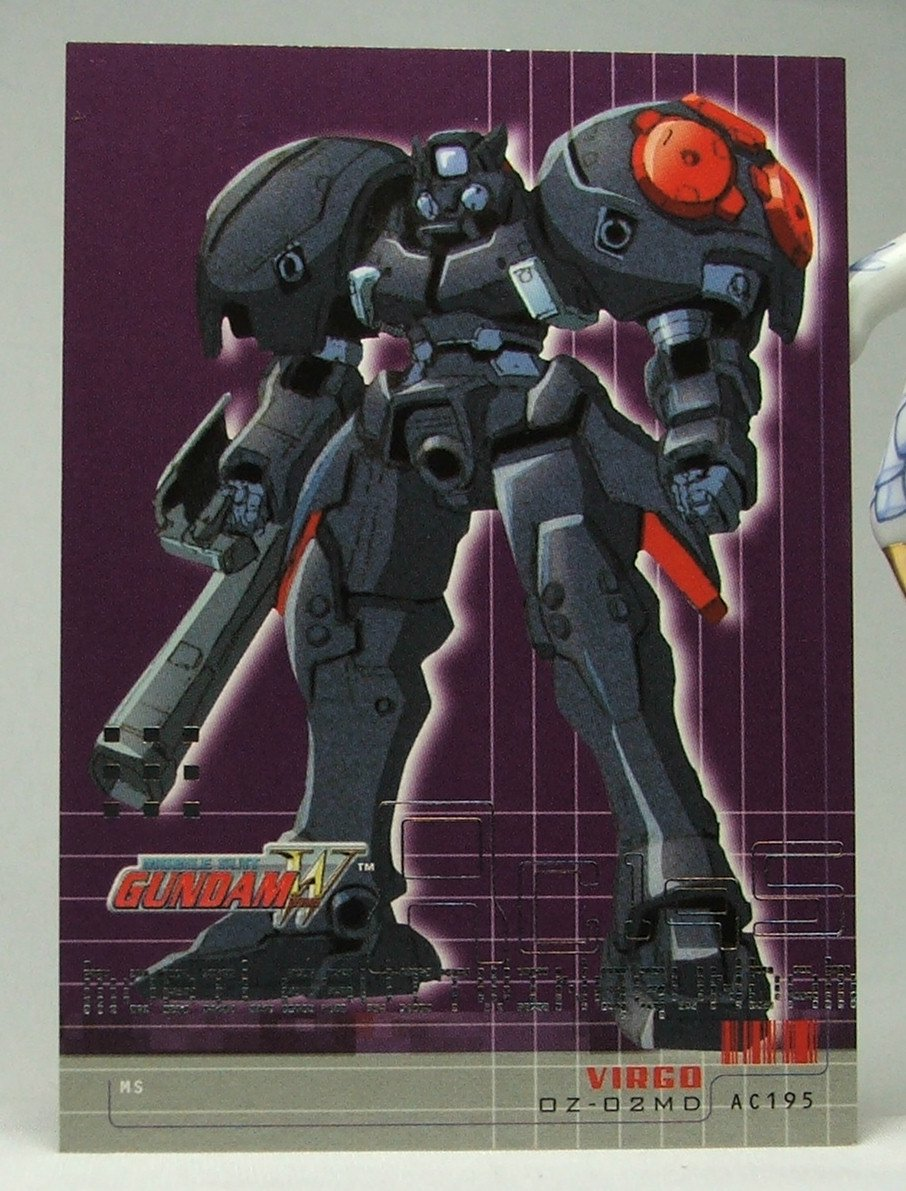 Gundam Wing Series One Trading Card #52