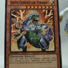 YuGiOh Battle Pack 2 War of the Giants First Edition BP02-EN046 Super Conductor Tyranno