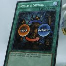 YuGiOh Battle Pack 2 War of the Giants First Edition Mosaic Rare BP02-EN130 Shield & Sword