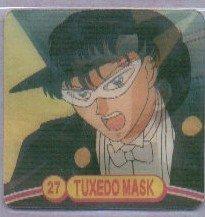 Sailor Moon Action Flipz #27 - Tuxedo Mask