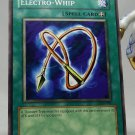YuGiOh Legend of Blue Eyes White Dragon LOB-093 Electro-Whip
