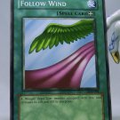 YuGiOh Legend of Blue Eyes White Dragon LOB-098 Follow Wind