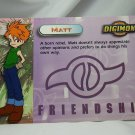 Digimon Photo Card #4 Matt