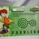 Digimon Photo Card #8 Izzy