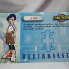 Digimon Photo Card #9 Joe
