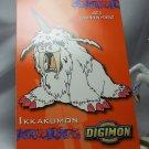 Digimon Photo Card #30 Ikkakumon