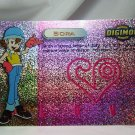 Digimon Photo Prism Card P5 Sora