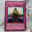 YuGiOh Pharaoh's Servant PSV-027 The Regulation of Tribe
