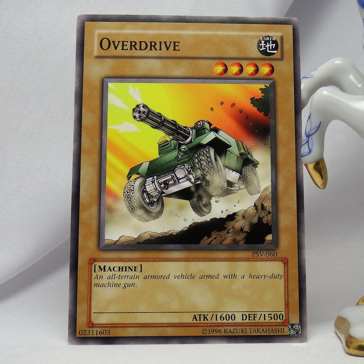 YuGiOh Pharaoh's Servant PSV-060 Overdrive
