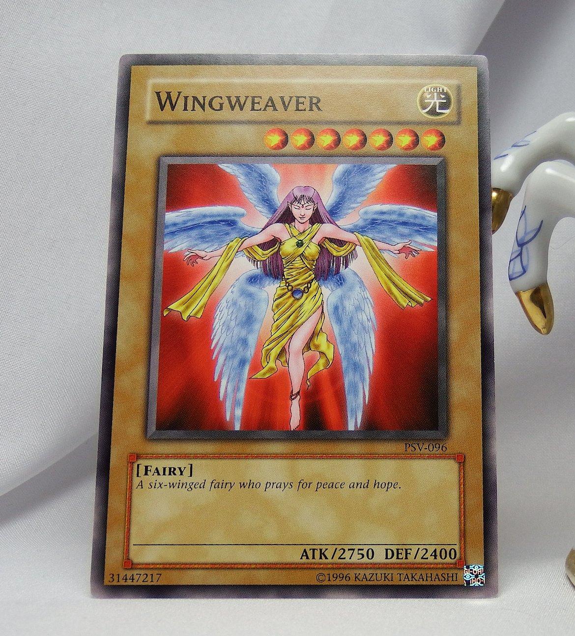 YuGiOh Pharaoh's Servant PSV-096 Wingweaver